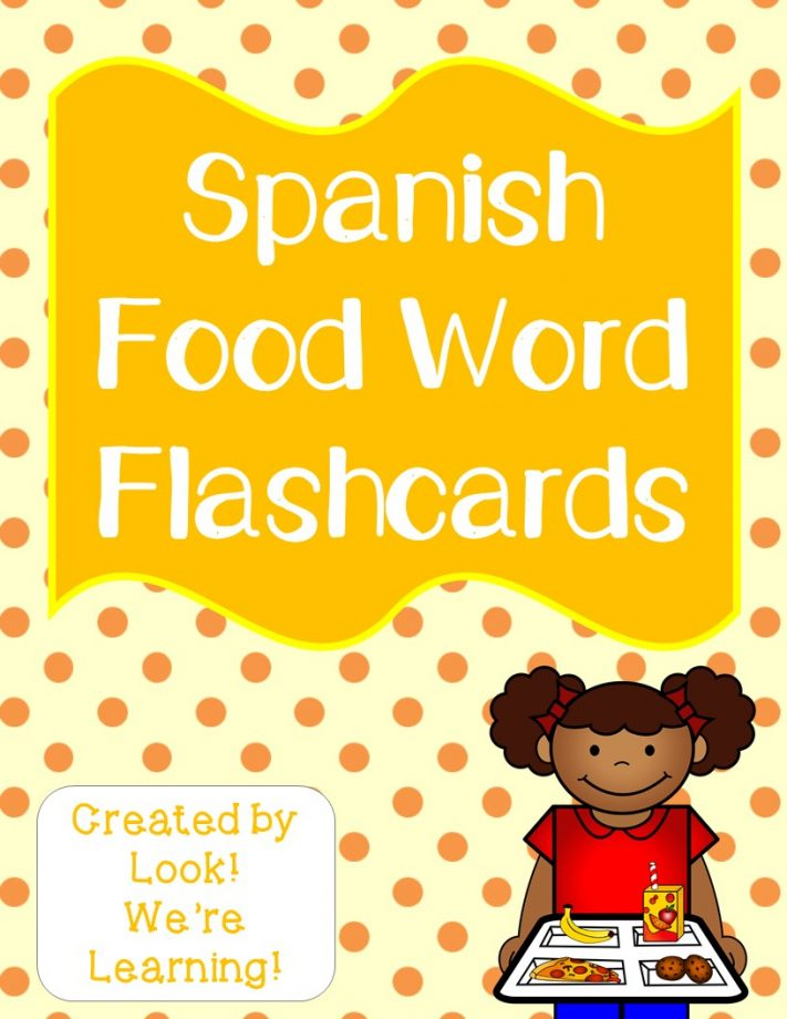 Spanish Food Cards
