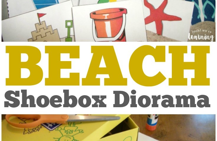 Activities for the Book Hello Ocean: Beach Shoebox Diorama