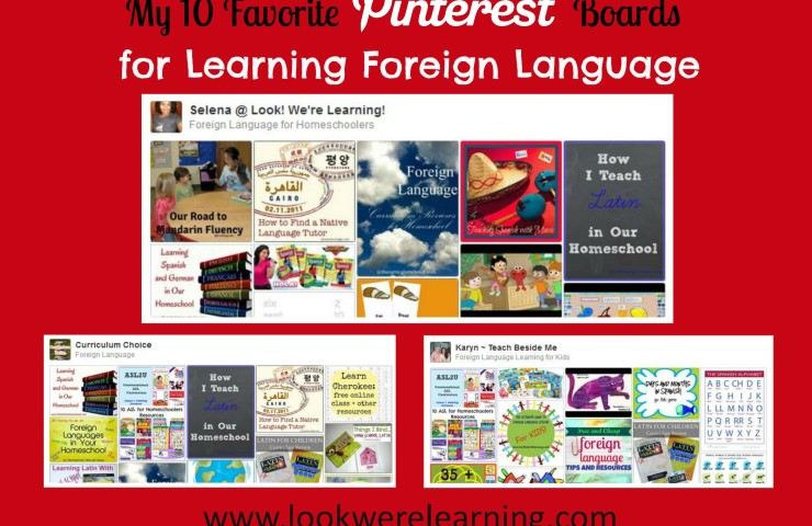 10 Pinterest Boards for Learning Foreign Languages