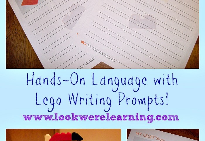 Review: Hands-On Language with Lego Writing Prompts!
