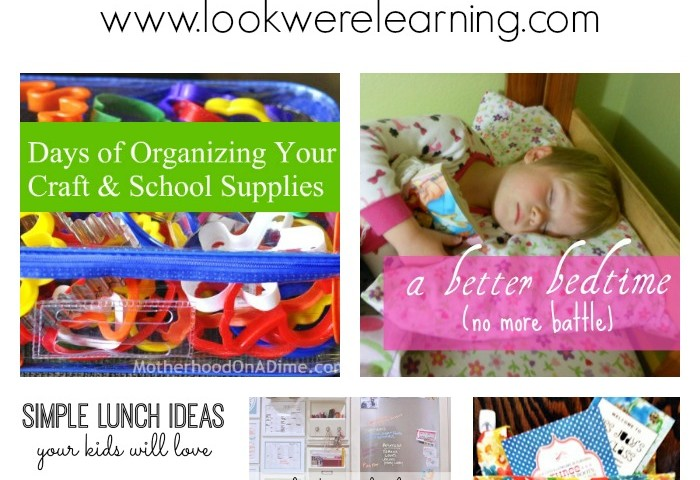 9 Night Before Back to School Organization Tips
