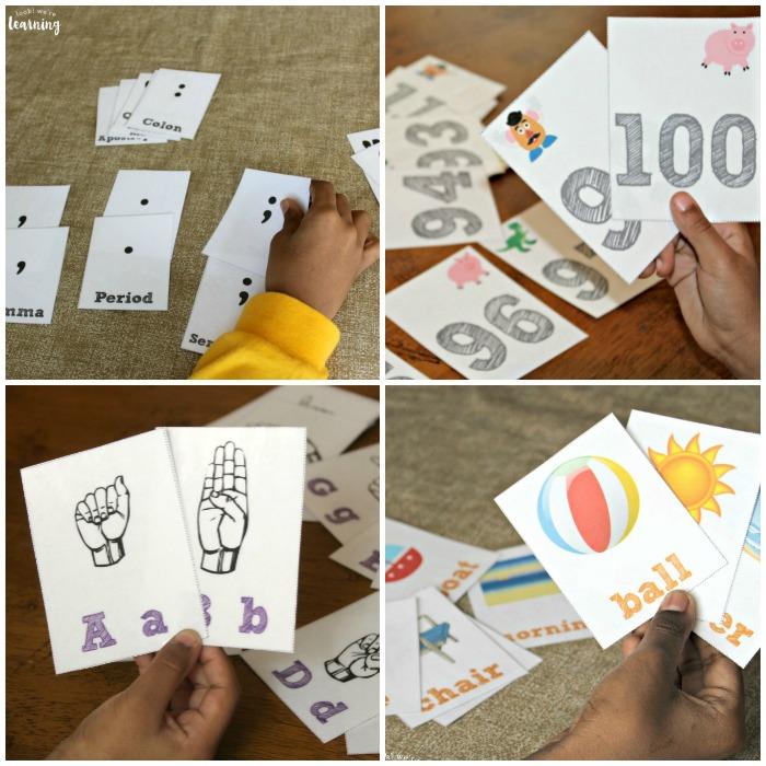 Free Printable Flashcards for Kids