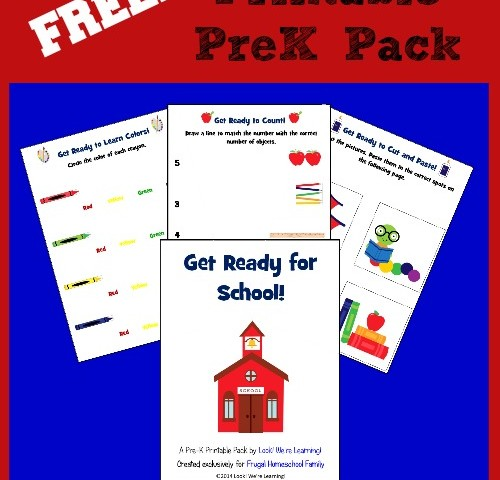 Free Pre K Back to School Printable Pack – Plus a Giveaway!