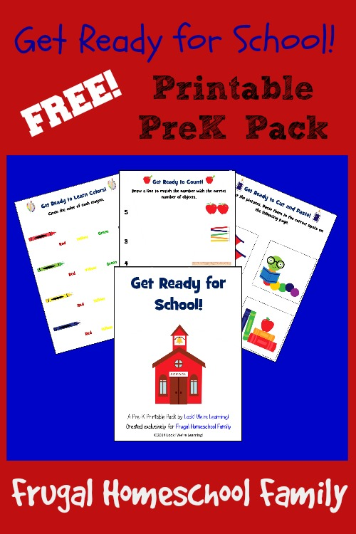 Free Back to School PreK Pack - Look! We're Learning!