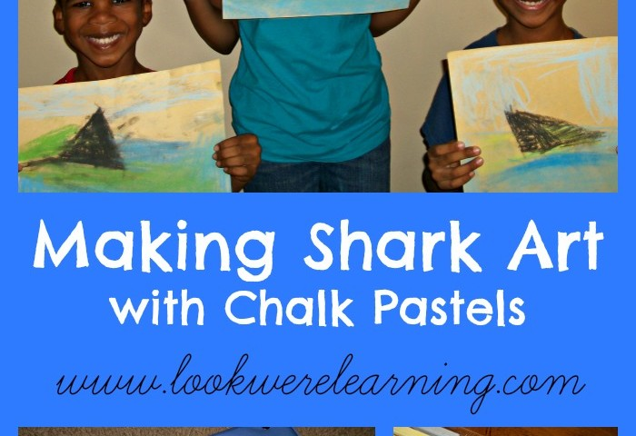 Making Shark Art with Chalk Pastels