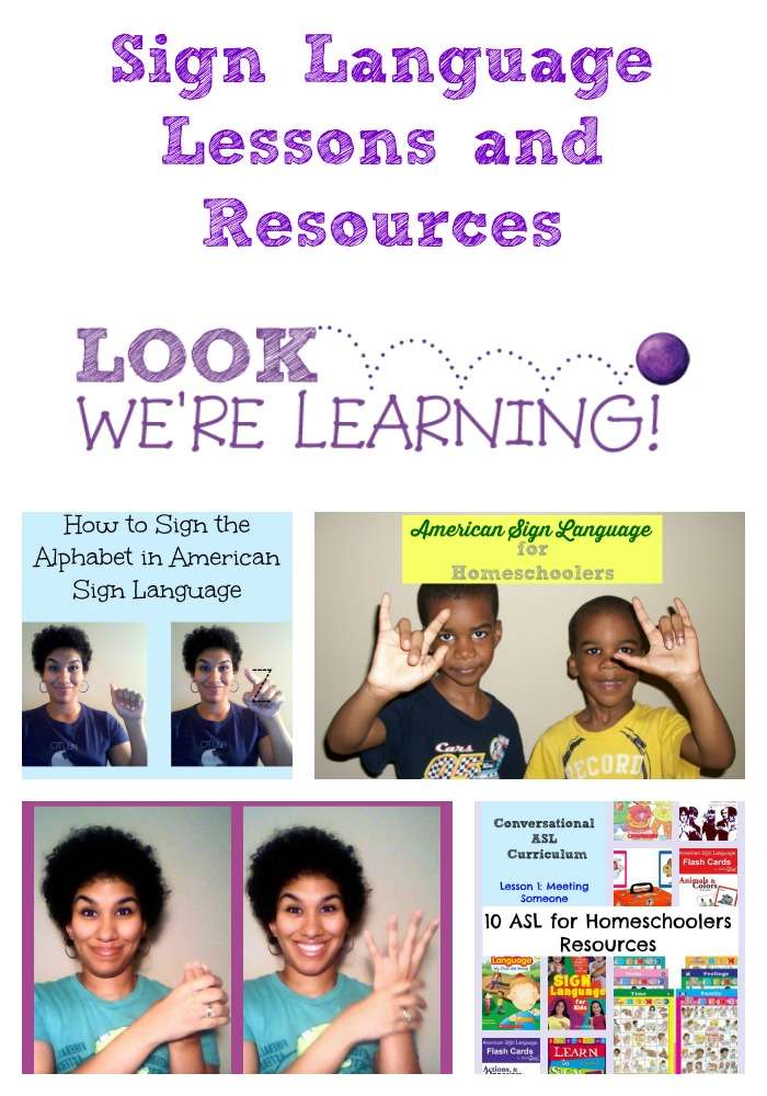 Sign Language Lessons and Resources