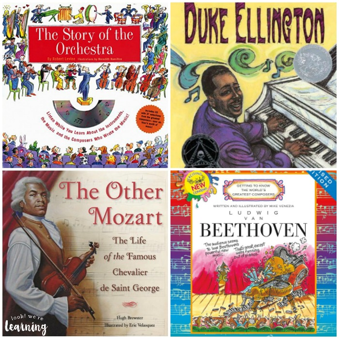 Books about Composers for Kids to Read