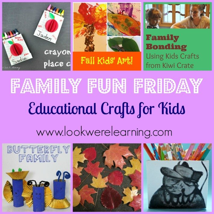 Educational Crafts for Kids - Look! We're Learning!