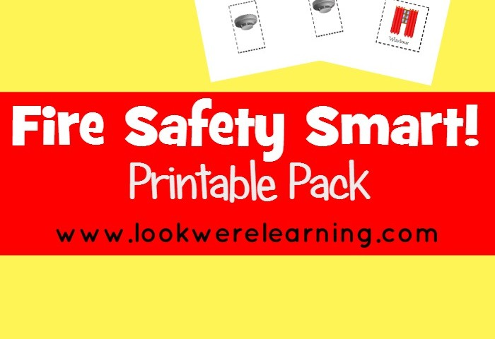 Fire Safety Smart: Fire Safety Printables for Kids