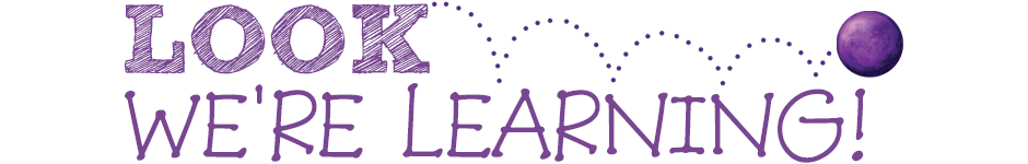 Look Were Learning Logo