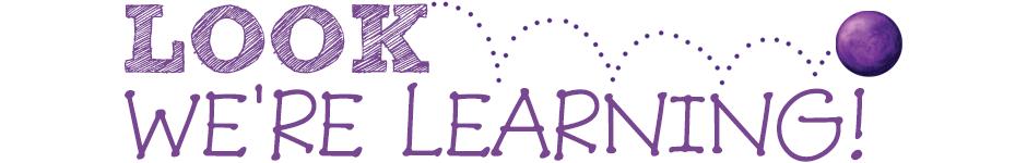 Look Were Learning Logo