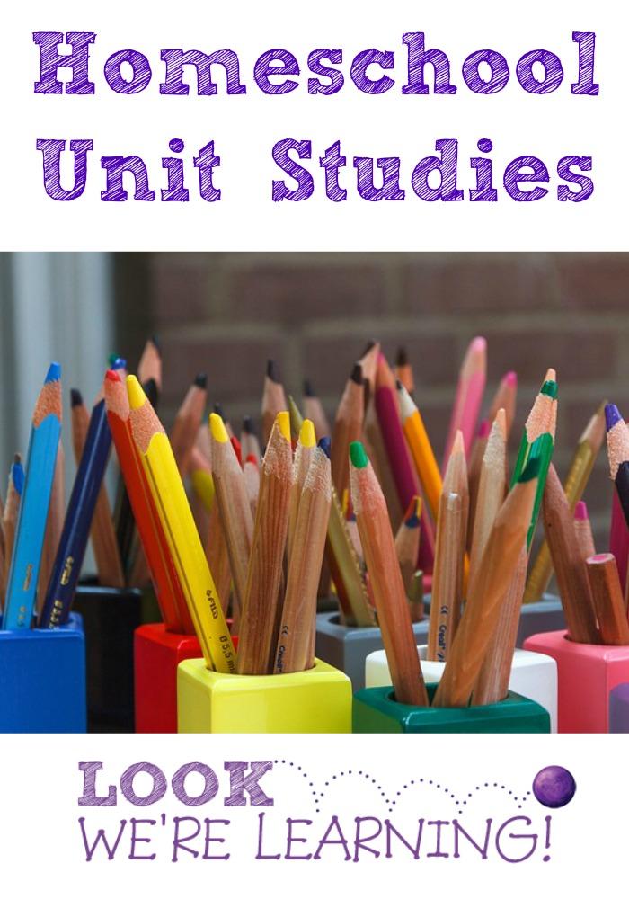 Homeschool Unit Studies