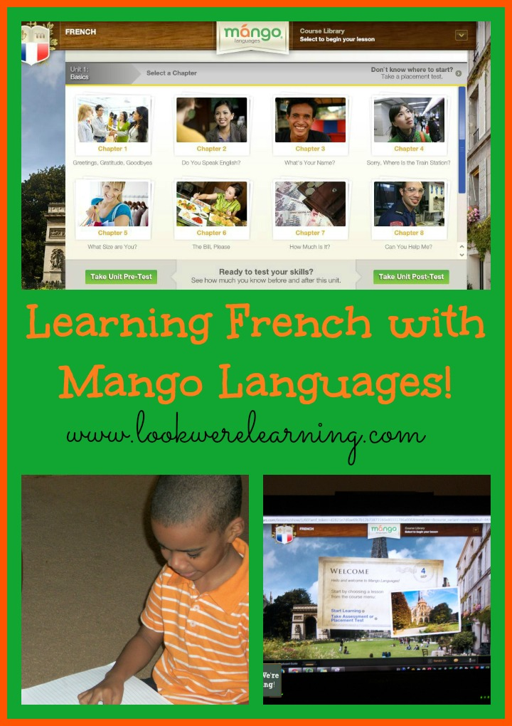 French Language Learning with Mango Languages - Look! We're Learning!