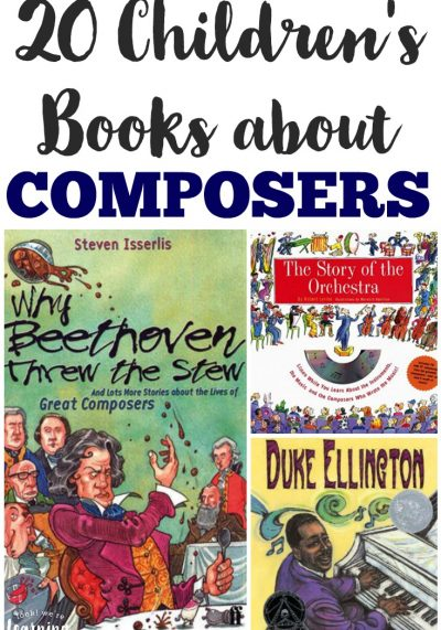These gorgeous children's books about composers are a perfect addition to a music history lesson!