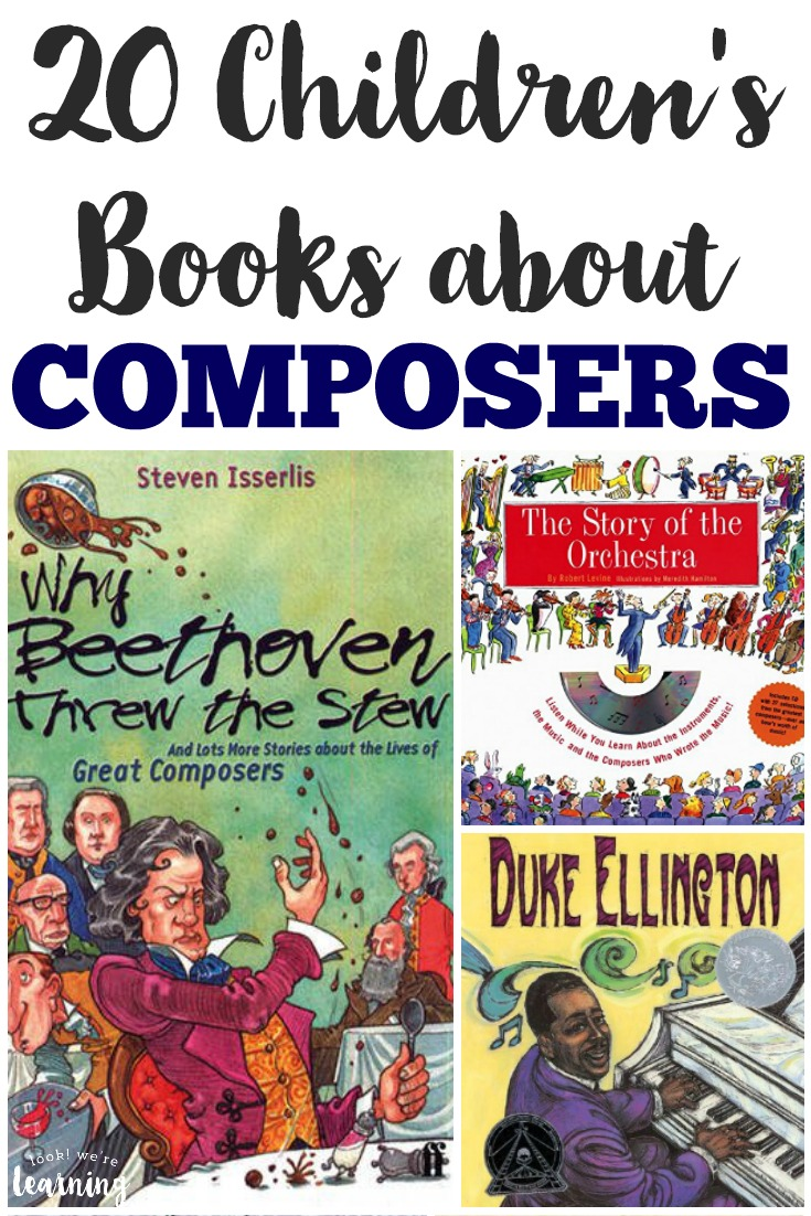 Children\'s Books about Composers - Look! We\'re Learning