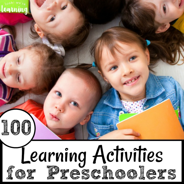 100 Learning Activities for Preschoolers