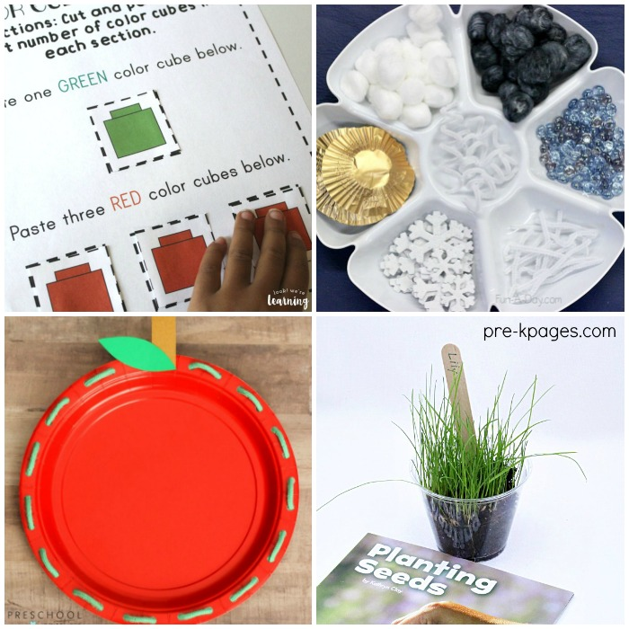 100 Preschool Learning Activities