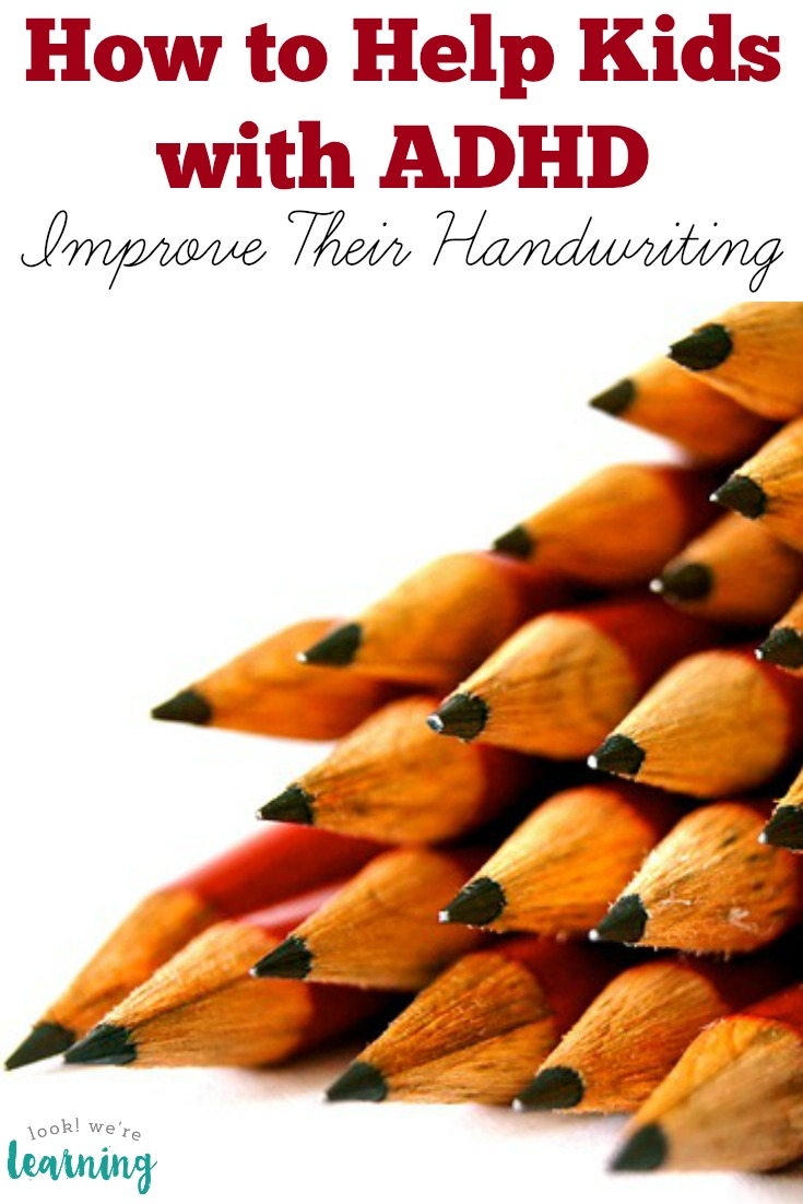 ADHD Handwriting Help for Kids