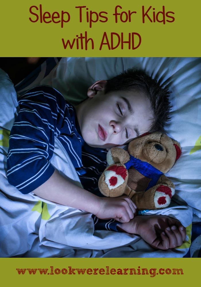 Sleep Tips for Kids with ADHD