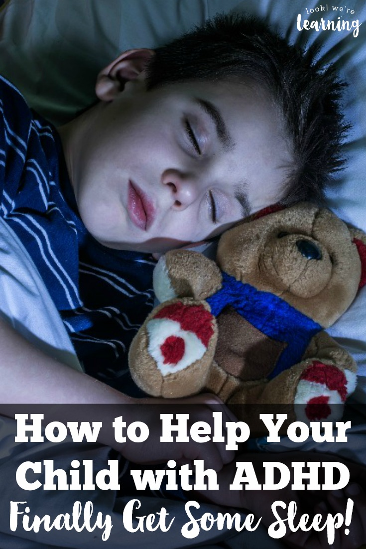 Does your child with ADHD toss and turn every night? Here are some ADHD sleep tips for kids that really work!