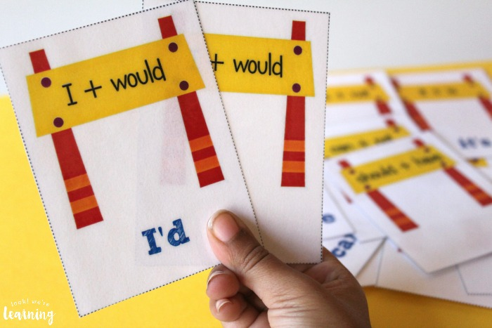 English Contractions Flashcards