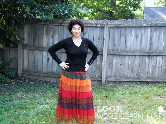 My Favorite Long Skirts for Fall - Look! We're Learning!