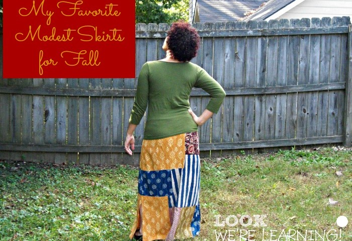 Seasonal Skirts: My Favorite Long Skirts For Fall