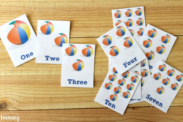 Free Printable Counting Flashcards for Kids