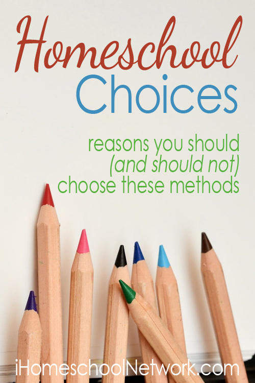 Homeschool Choices Linkup