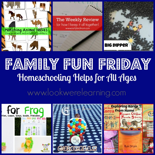 Homeschooling Helps for All Ages - Look! We're Learning!