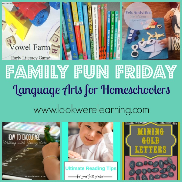 Language Arts for Homeschool - Look! We're Learning!