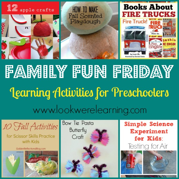 Learning Activities for Preschoolers - Look! We're Learning!