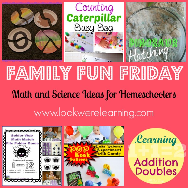 Math and Science Ideas for Homeschoolers - Look! We're Learning!
