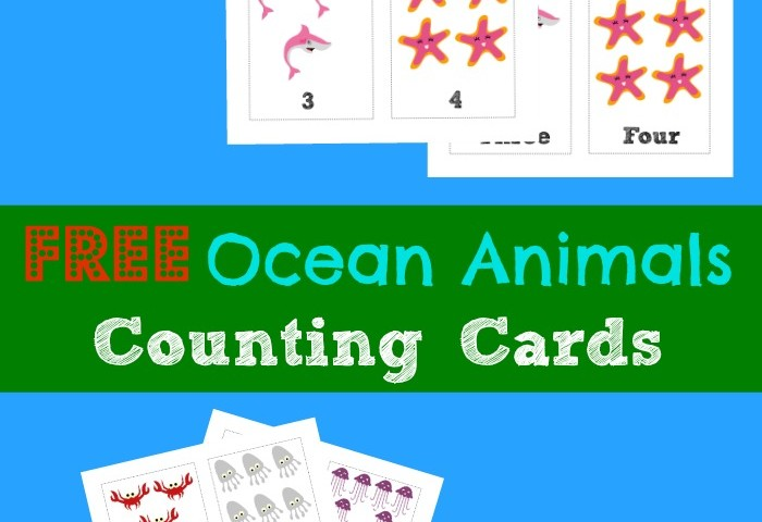 Free Printable Flashcards: Counting