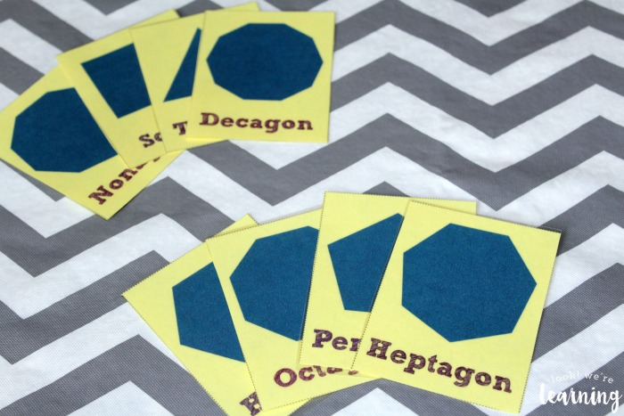 Polygon Flashcards for Kids