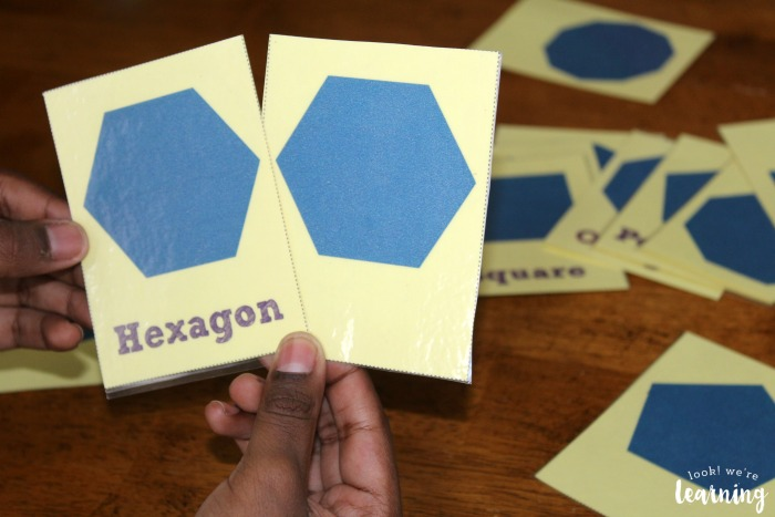 Printable Polygons Flashcards