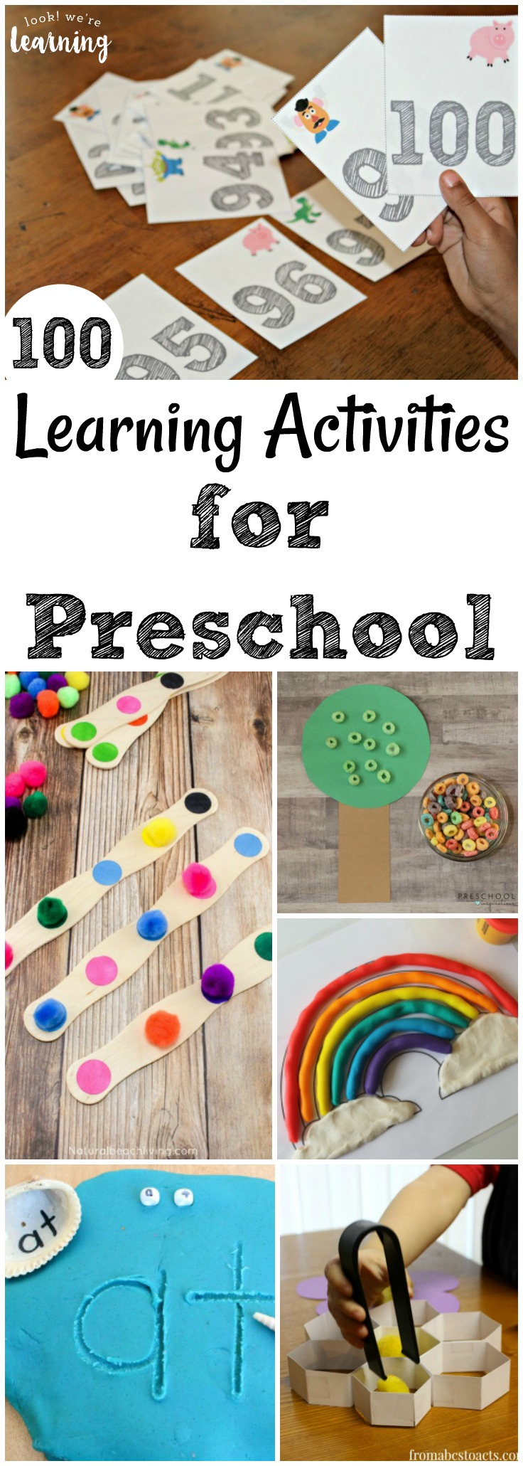 Share some of these fun and hands-on learning activities for preschoolers with your little ones!
