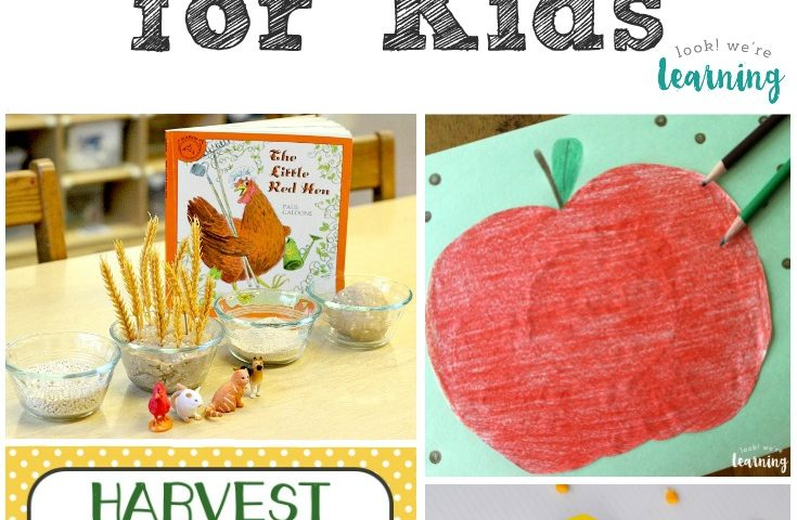 Homeschool Unit Studies: Harvest Unit Study