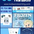 50 Free Winter Printables - Look! We're Learning!