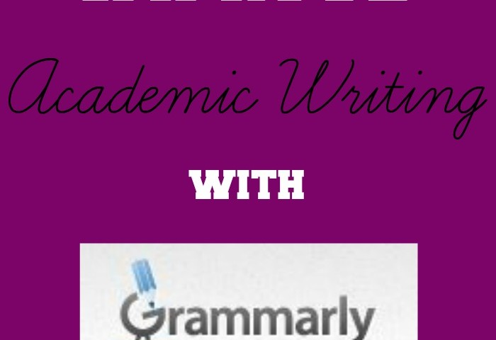 How to Improve Academic Writing with Grammarly