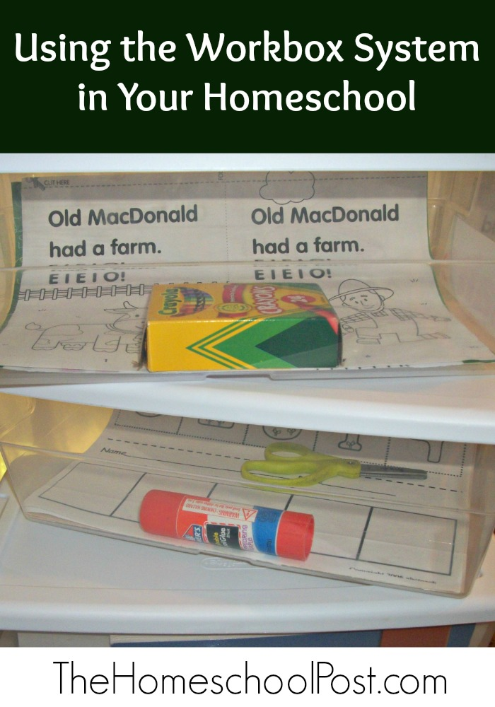 Using the Workbox System in Your Homeschool