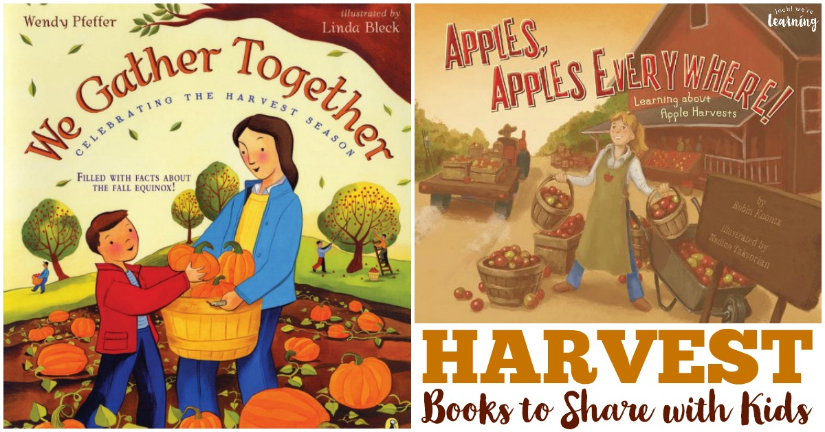 Harvest Books for Kids to Read
