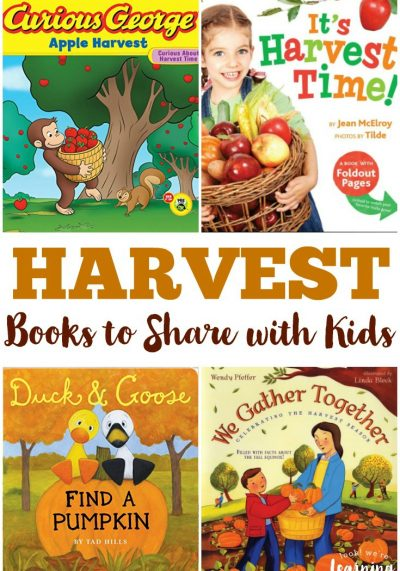 Learn about how food is grown with these great children's books about harvest!