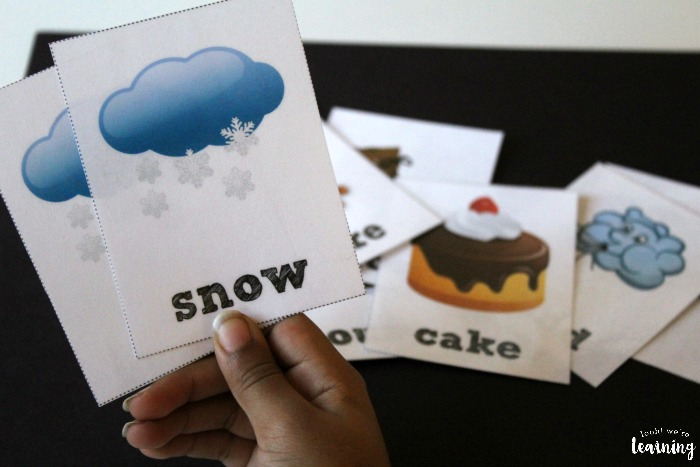 Printable Winter Themed Sight Word Flashcards