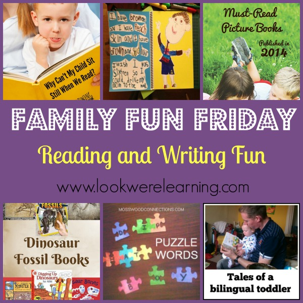 Reading and Writing Activities for Kids - Look! We're Learning!