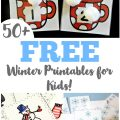 These free winter printables for kids feature plenty of fun learning ideas for the winter season!