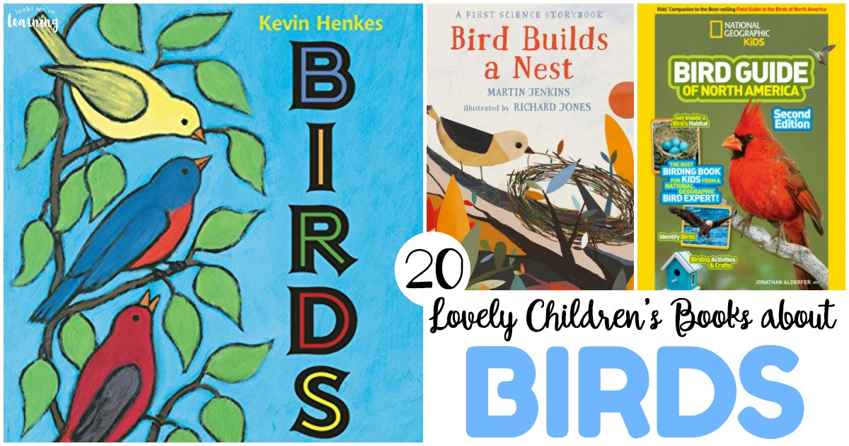 20 Lovely Childrens Books About Birds Look Were Learning