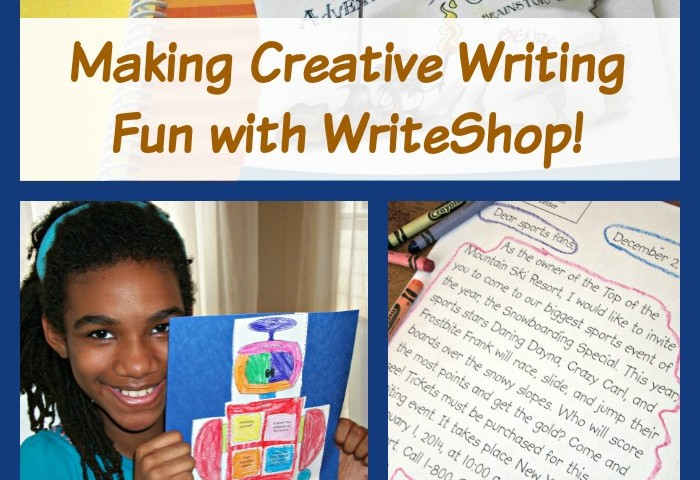 Making Creative Writing Fun for Reluctant Writers: Writeshop Junior Review