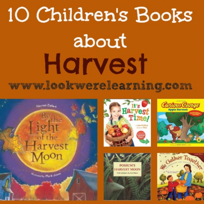 10 Children S Books About Harvest Look We Re Learning