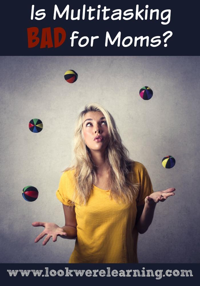 Is Multitasking Bad for Moms